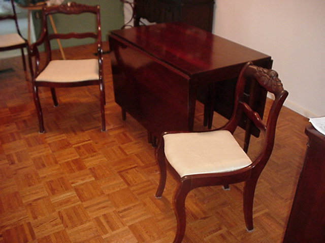 Antique Dining Table and Chairs For Sale  Antiquescom