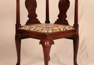 Antique Queen Anne Chair
