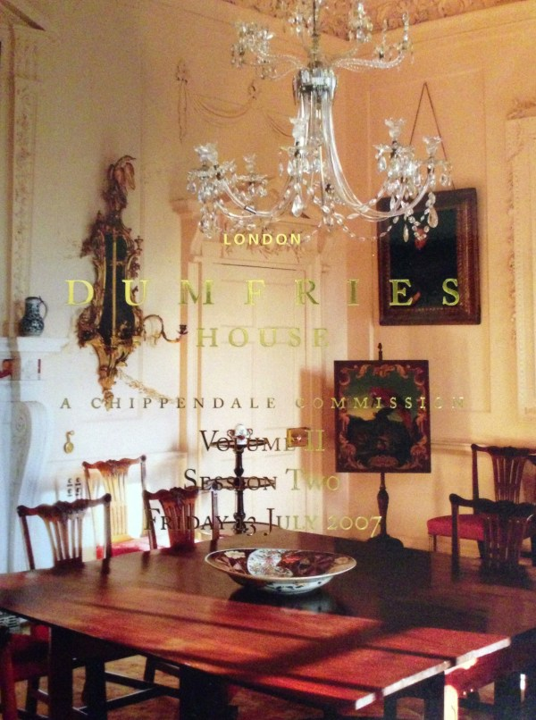 Christie' Auction Catalog Dumfries House Vol. 1 Vol 2