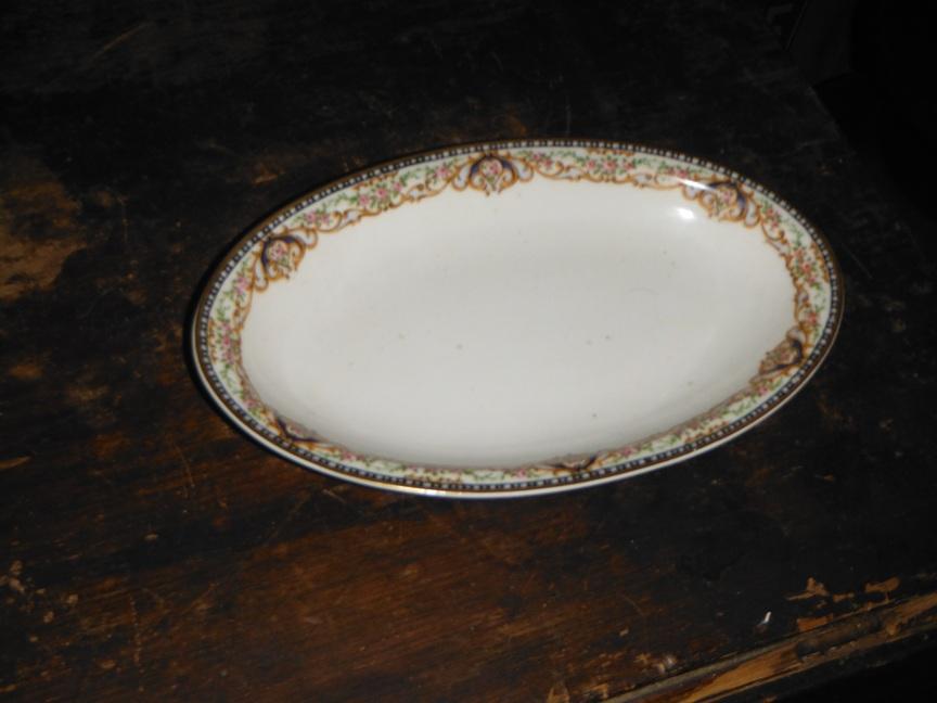 mid century kitchen table stick on backsplash tiles for rare pattern 14 piece antique (c. 1903) theodore haviland ...