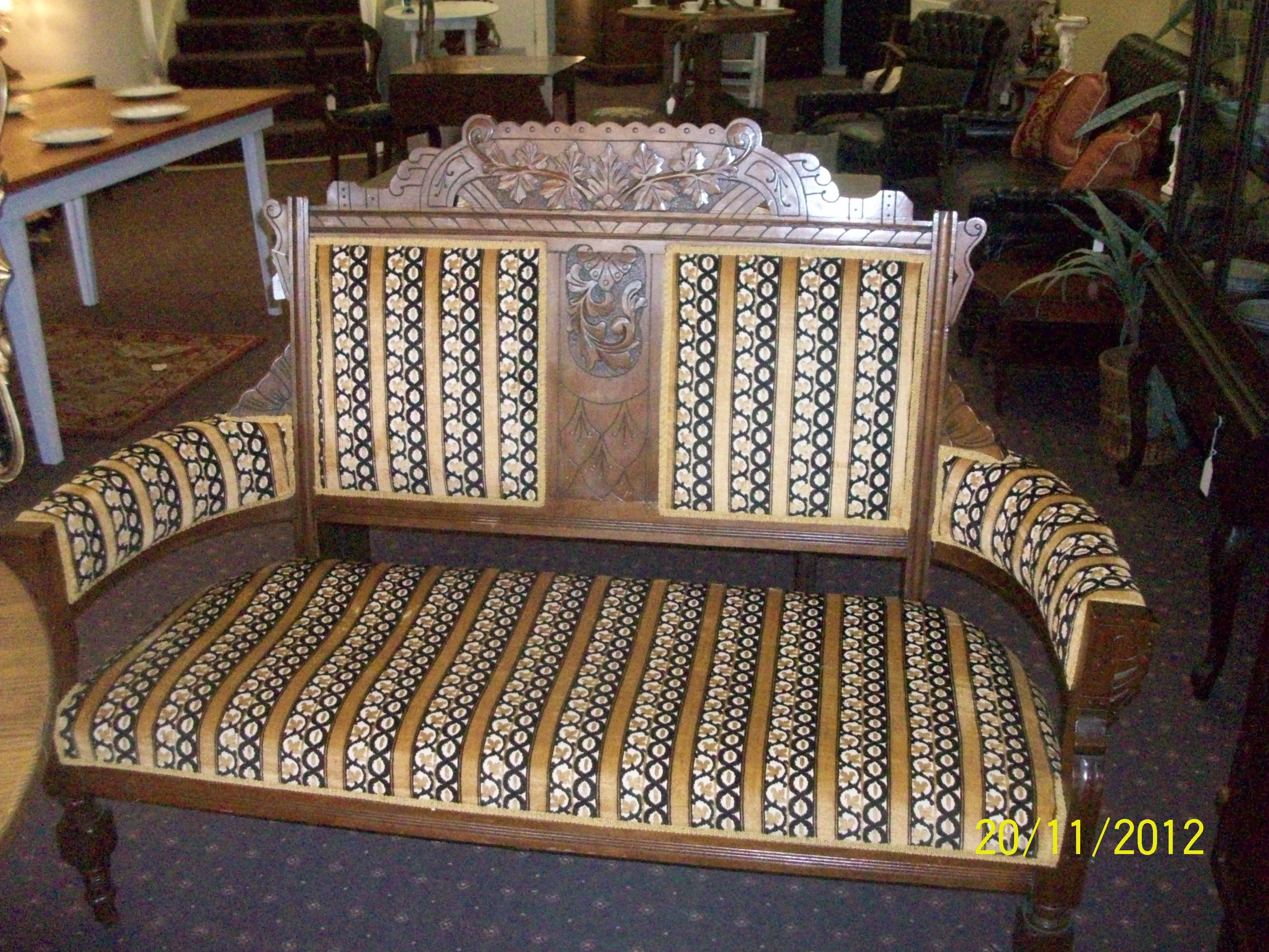 antique victorian sofas for sale cama corte ingles madrid parlor mahogany settee and chair