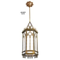 Gothic Victorian Style Large Antique Pendants Ceiling ...