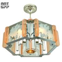 Mid Century Modern Semi Flush Mount Ceiling Light Fixture ...