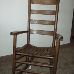 Antique Rocking Chair Covers Grand Rapids Mi Slat Back For Sale Antiques