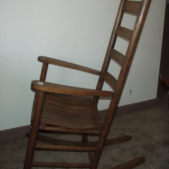 Antique Rocking Chair Price Guide Ingenuity High 3 In 1 Slat Back For Sale Antiques