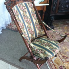 Antique Folding Chair Best Gaming Under 100 Gorgeous Walnut Victorian Upholstered
