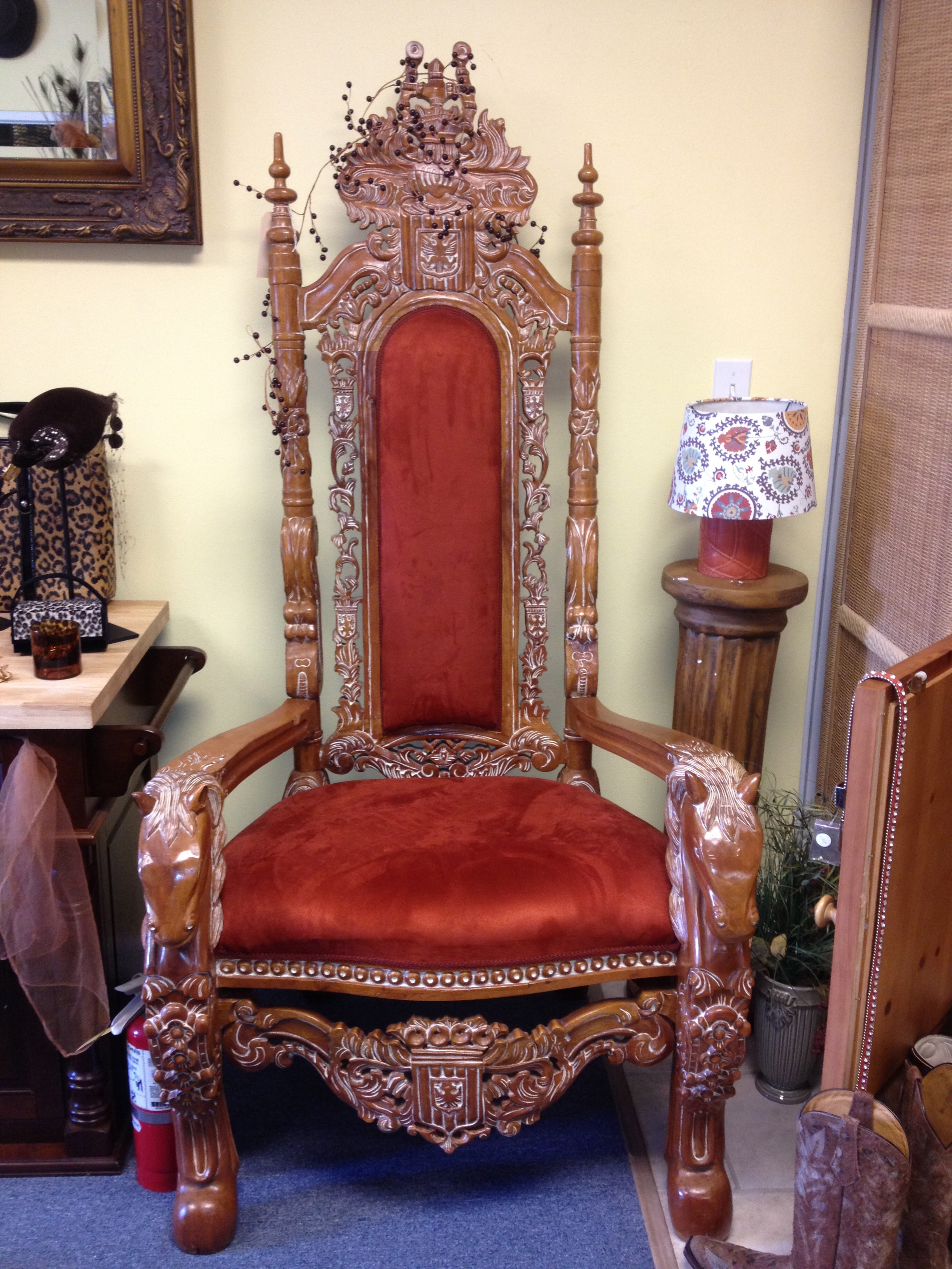 kings chair for sale camp with table antique antiques classifieds