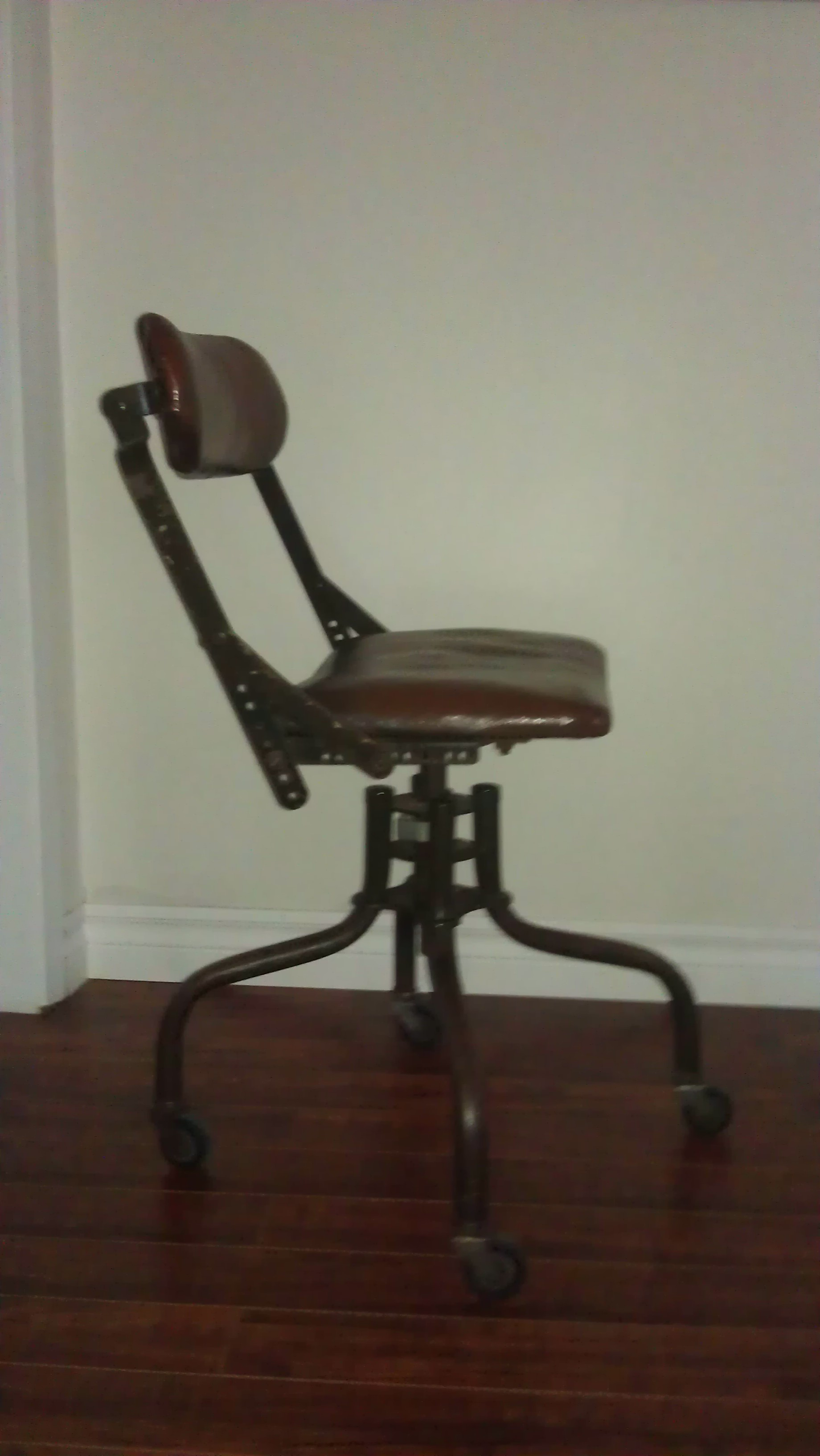 1930s American Industrial Office Chair For Sale