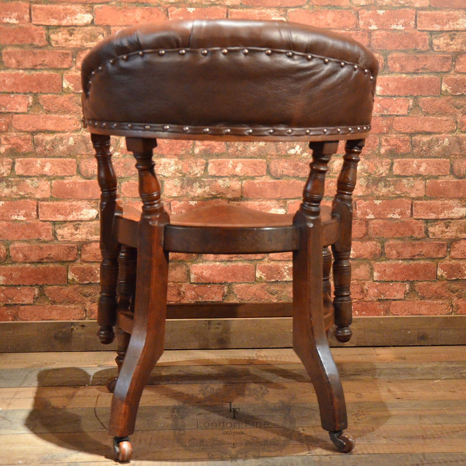 big chairs for sale chair cover hire melbourne western suburbs antique library mahogany brown leather hoop back