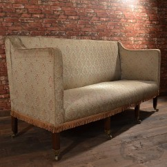 Antique Victorian Sofas For Sale Down Blend Sleeper Sofa Georgian High Back English C 1800 3 Or 4
