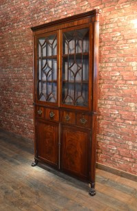 Antique Tall Corner Cabinet
