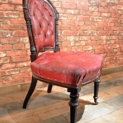 Red Chairs For Sale Black Wooden Rocking Chair Antique English Late Regency Mahogany Leather