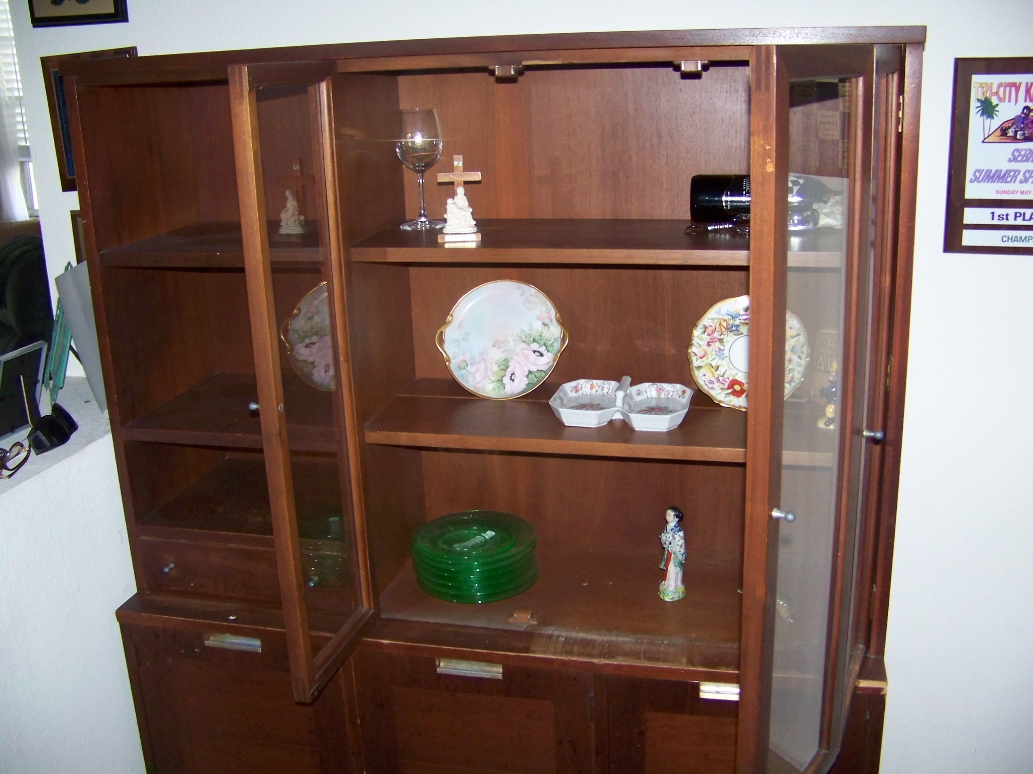 American Of Martinsville China Cabinet For Sale  Antiques
