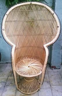 Wicker Peacock Chair Classifieds