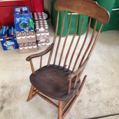 Antique Rocking Chairs For Sale Ergonomic Drafting Chair With Arms Primitive Great Condition 40 Quot Tall