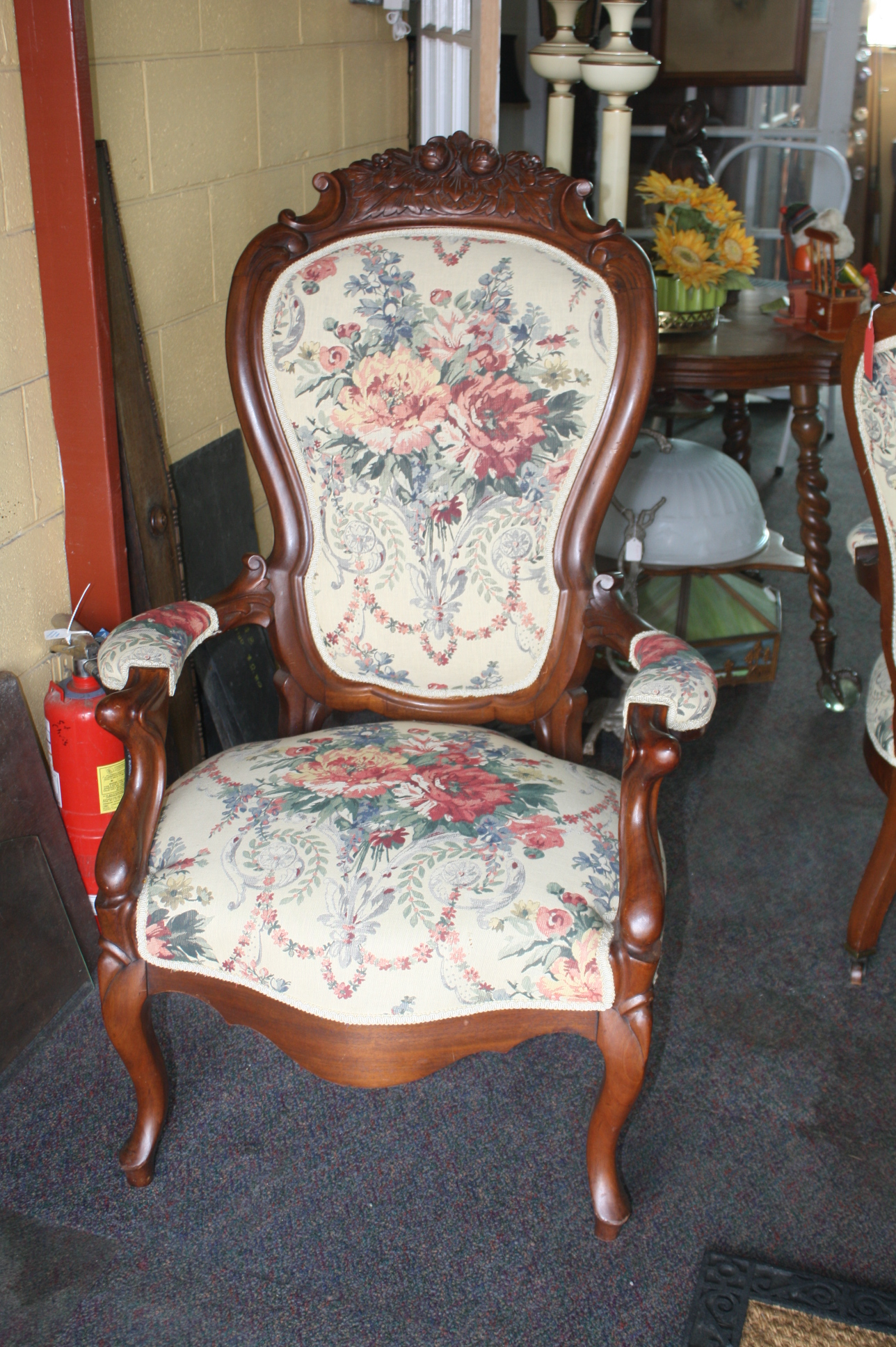 victorian parlor chairs ikea fold away table and exceptionally upholstered pair of