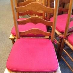 Antique Ladder Back Chairs With Rush Seats Lime Wash Chiavari Stickley Seat For Sale Antiques