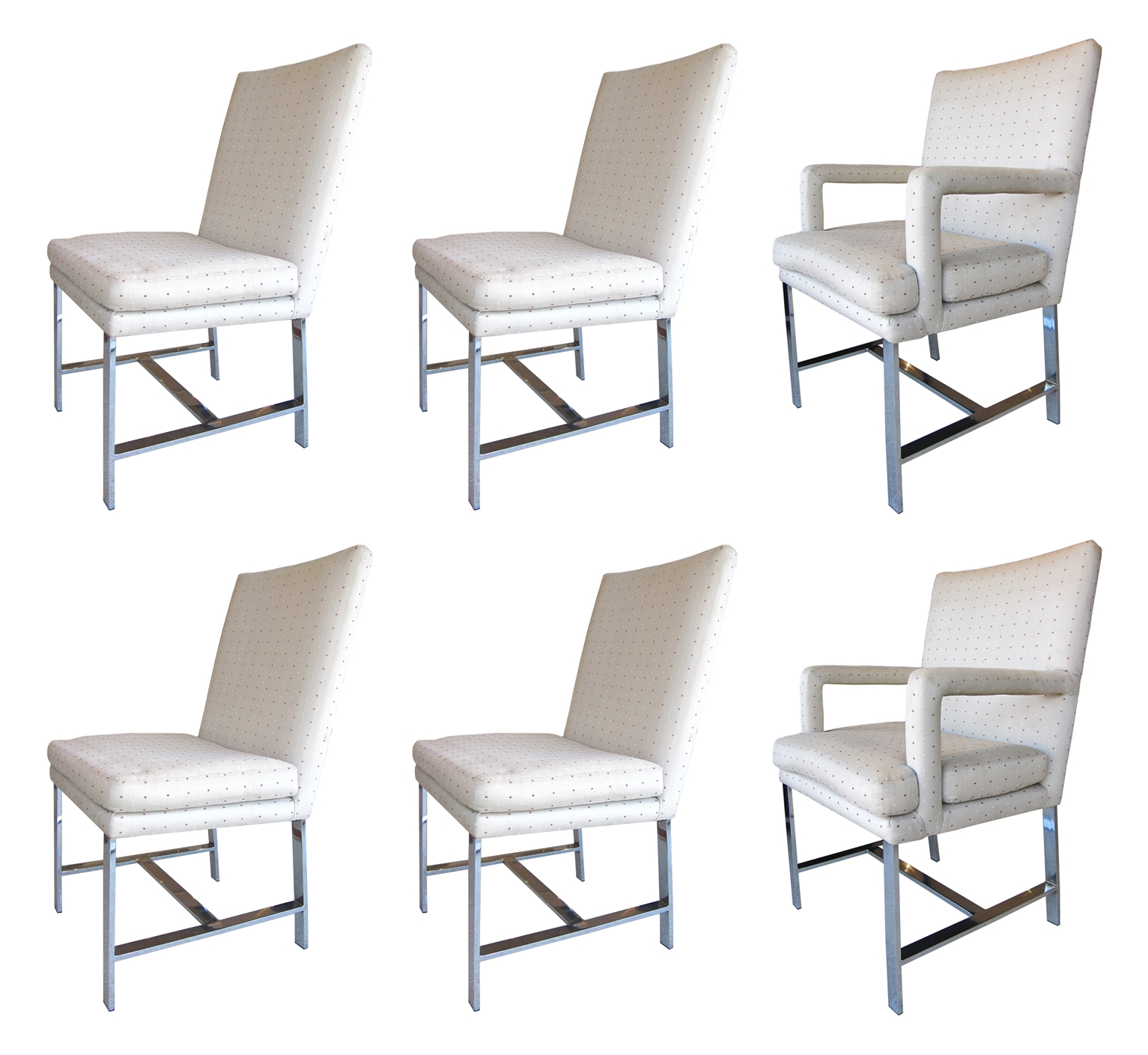 set of six dining chairs for sale swing chair cushion covers paul evans directional 6