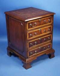 English Mahogany File Cabinet For Sale | Antiques.com ...