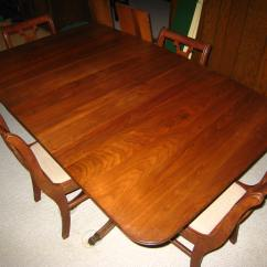Feet For Chairs Pink Office Chair Staples Banded Mahogany Duncan Phyfe Style Dining Table W Brass Claw 4 Set Sale Antiques Com Classifieds