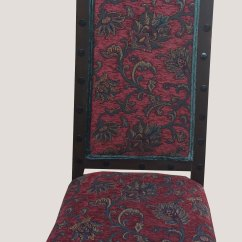 High Backed Chair Walgreens Ultra Lightweight Transport Burgundy Dimensions Back Antique Chairs Furniture