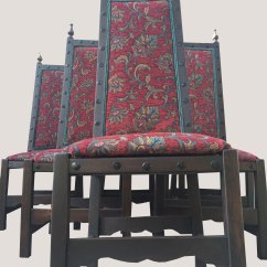 Kings Chair For Sale Patio Covers Edmonton Set Of 6 Antiques Royal High Back Chairs Castle King Style