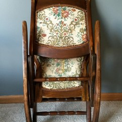 Antique Folding Rocking Chair Value Orthopedic Chairs For Back Pain Best 2000 43