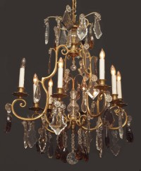 Antique Crystal Chandelier - CHC77 For Sale | Antiques.com ...