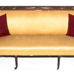 Early American Style Sofas Power Recliner Sofa Stopped Working 19th C Duncan Phyfe New York With Original Old Dry Surface Circa 1800 1820 For Sale