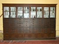 RARE!! APOTHECARY/GENERAL STORE WALL CABINETS 24 LN FT