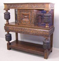Early English Tudor oak court cupboard c1700 : Item # 6273 ...