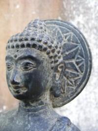 STANDING BUDDHA Sculpture Statue Worship ART & CRAFT For ...