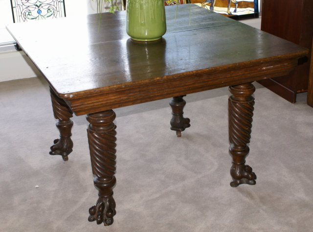 antique kitchen tables discount replacement cabinet doors super nice solid oak table for sale antiques com