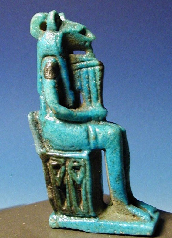 An Egyptian Faience OpenWork Sekhmet For Sale  Antiquescom  Classifieds