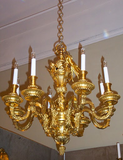 Antique French Louis Xiv Bronze D Ore Chandelier Circa 1890 1900 Chb49 For