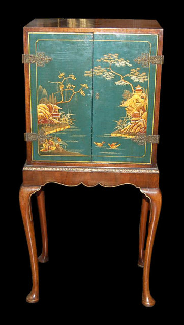 English Chinoiserie Cabinet For Sale  Antiquescom