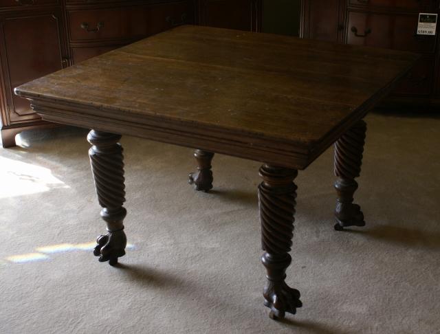 antique kitchen table bling backsplash uper nice solid oak for sale antiques com