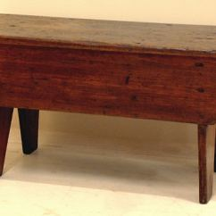 Pine Kitchen Bench Island For Sale Antique Country Farm Seat Item 4081 This Measures 32 And One Quarter Inches Long By 14 Half Wide Is 15