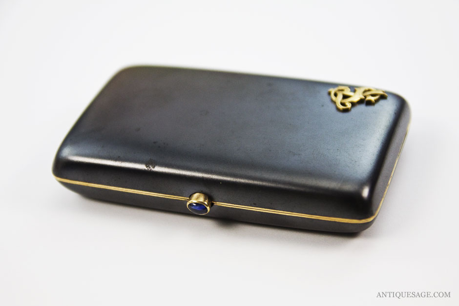Smoking Hot - Antique Silver Cigarette Cases and Cigar Cases