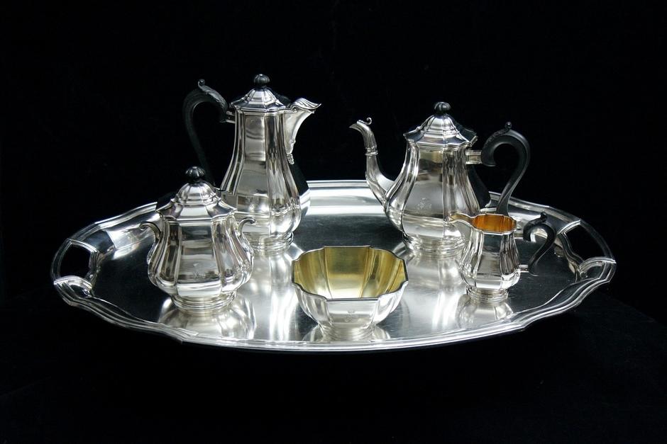 Sterling Silverware - The Original Savings Account & Sterling Silverware - The Original Savings Account - Antique Sage