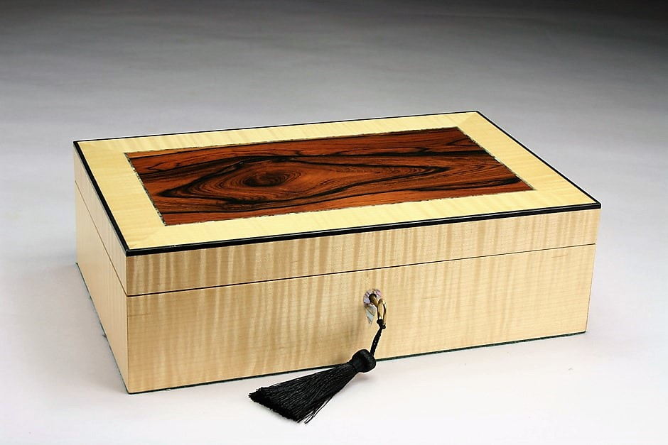 Rosewood Trinket Box
