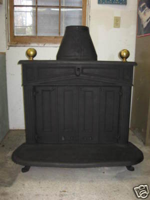 Franklin Wood Burning Fireplace Stove