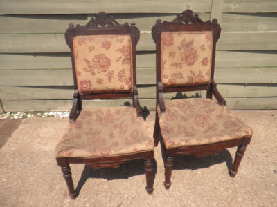 eastlake victorian parlor chairs brown recliner chair cheapest american carved side antique