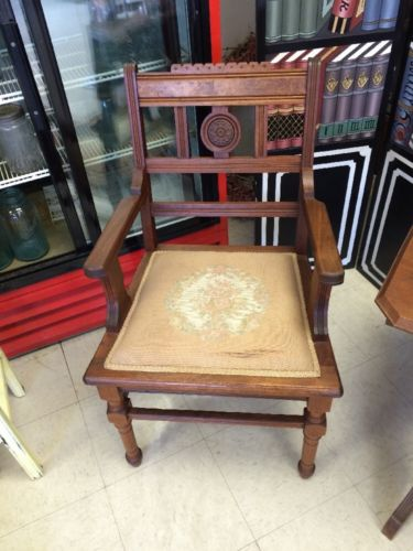 eastlake victorian parlor chairs kohl s child rocking chair walnut antique price guide