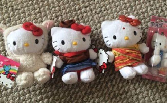 Sanrio Hello Kitty Plush Lot 4 Toys R Us Target India