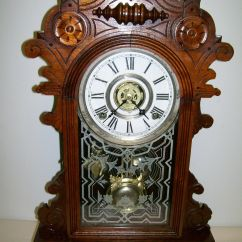 Gilbert Kitchen Clock Cushioned Mat Antique Clocks Price Guide
