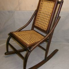 Antique Rocking Chair Price Guide Unusual Comfy Vintage Bent Wood Childs With Caned Seat