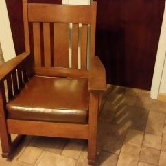 Antique Tiger Oak Dining Room Chairs Zebra Print Desk Chair Furniture -- Price Guide