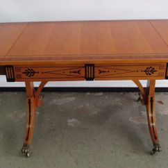 Drexel Heritage Sofa Prices Ciara Leon 585 881 Table Drop Leaf Honey