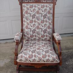 Antique Rocking Chair Price Guide Office Without Arms Local Pickup Only Upholstered Platform Rocker